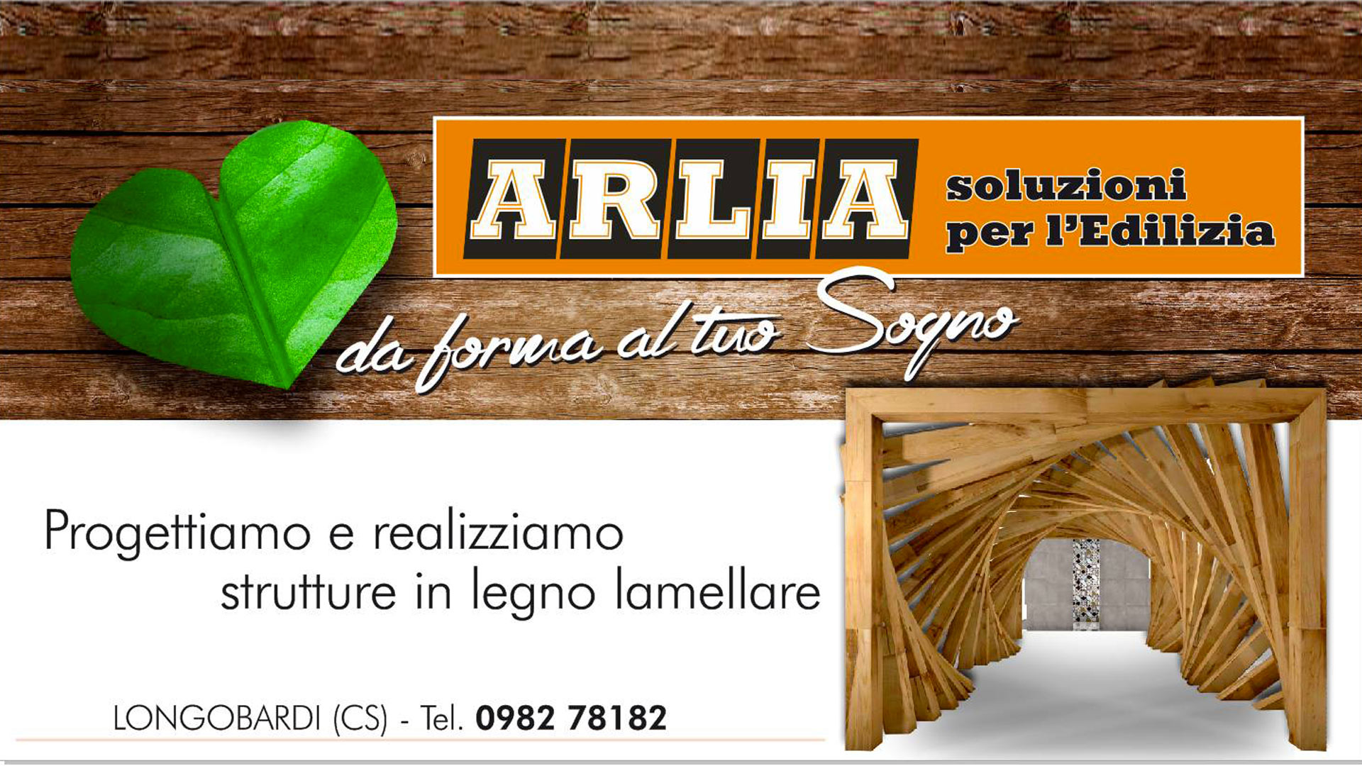 Legno edilizia di Arlia Giuseppe Soluzioni per l'edilizia