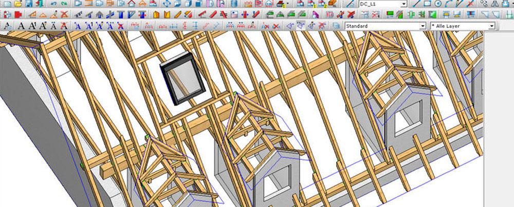 dietrich's software di progettazione per legno lamellare